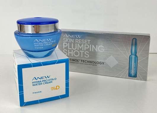 AVON ANEW Gesichtspflege-Duo - Creme und Ampullen
