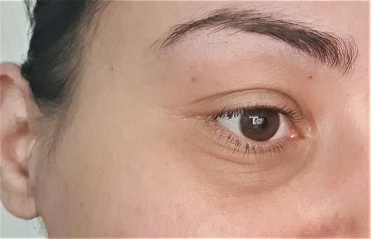 Haut vor Testbeginn - BIO:VÉGANE Bio Hanf Augenpflege