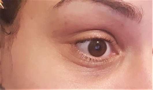 Haut nach 4-wöchigem Test - BIO:VÉGANE Bio Hanf Augenpflege