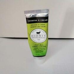 """Produktbild zu Dionis™ Goat Milk Hand Cream """"Verbena & Cream"""""""