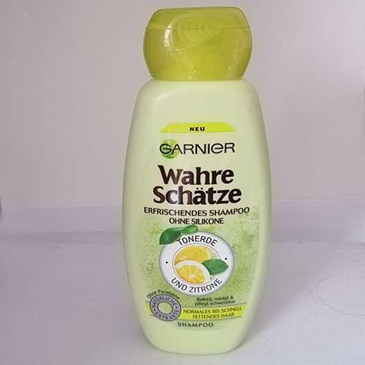 <strong>Garnier Wahre Schätze</strong> Erfrischendes Shampoo Tonerde und Zitrone