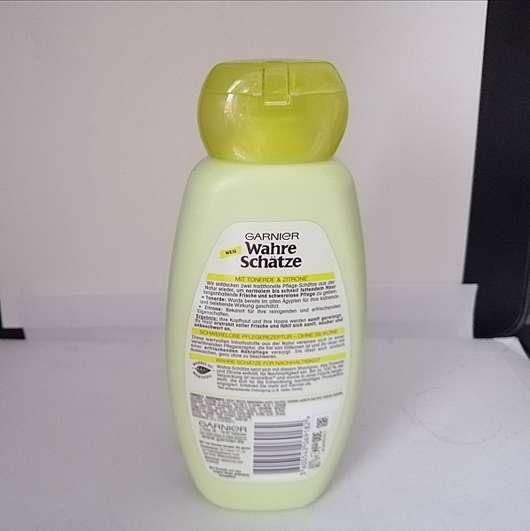 Garnier Wahre Schätze Erfrischendes Shampoo Tonerde und Zitrone