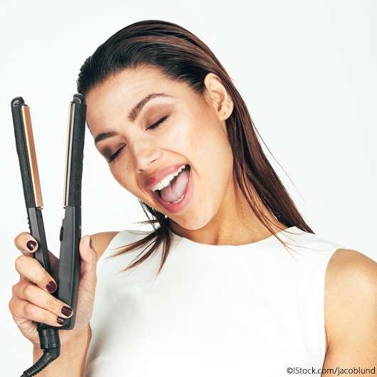 Glätteisen fail: Darum brechen die Haare trotz Hitzeschutz ab