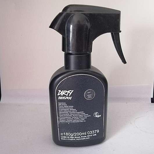 LUSH Dirty Bodyspray