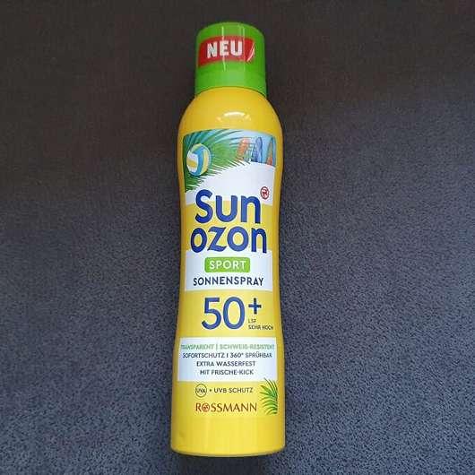 Sunozon Sport Sonnenspray LSF 50+