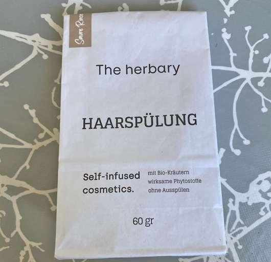 The herbary Saure Rinse Haartee-Spülung