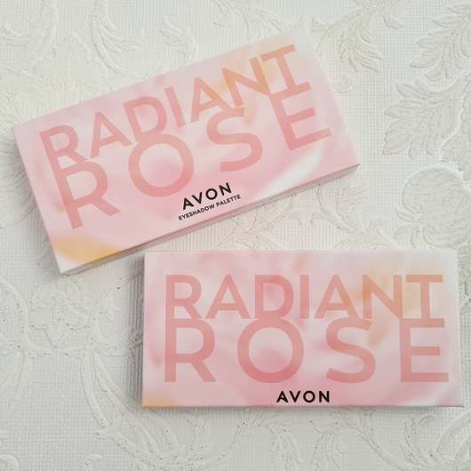 <strong>AVON</strong> Radiant Rose 10-in-1 Lidschatten-Palette (LE)
