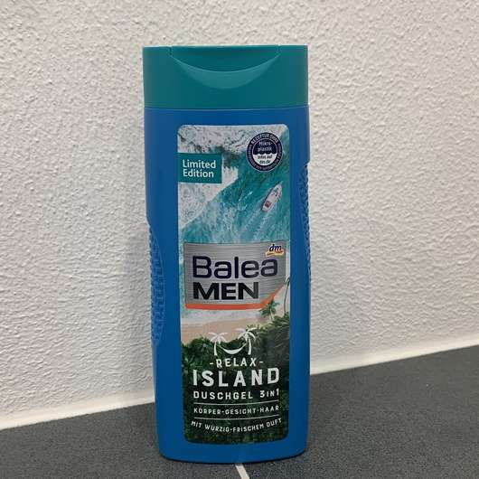 Balea Men Relax Island Duschgel 3in1 (LE)