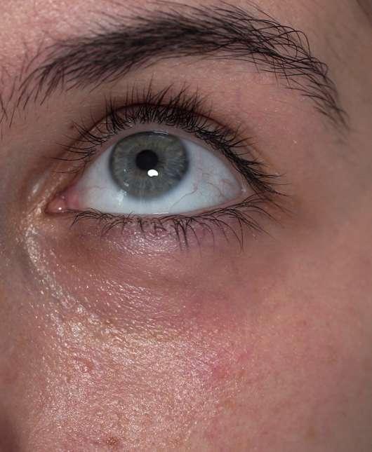 BIO:VÉGANE Bio Hanf Augenpflege - Haut nach der Anwendung