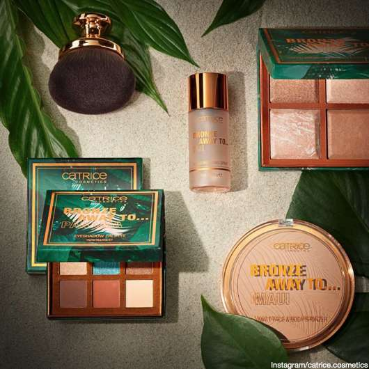 Catrice: Bronze away to… Collection 🌴