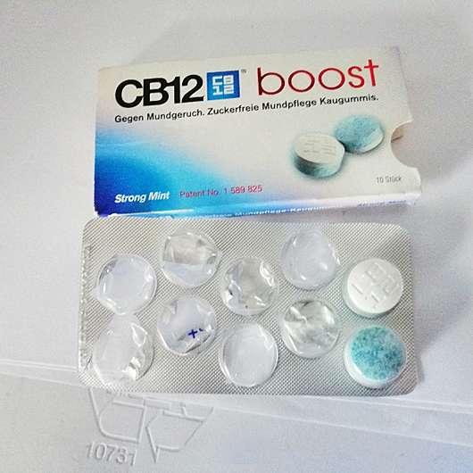 CB12 boost Zuckerfreie Mundpflege Kaugummis
