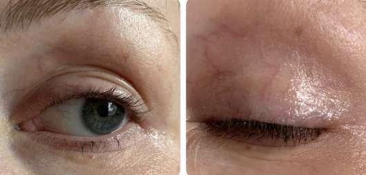Auge mit Dr. PAWPAW Shimmer Balm