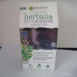 Produktbild zu Garnier Color Herbalia 100% Pflanzenhaarfarbe Mokkabraun