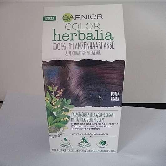 Garnier Color Herbalia 100% Pflanzenhaarfarbe Mokkabraun