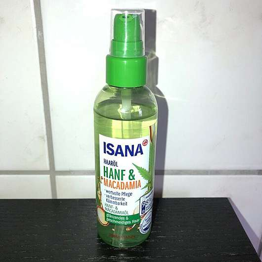 ISANA Haaröl Hanf & Macadamia