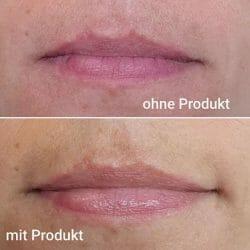 Lippen mit/ohne Hipi Faible Lip Balm Mint & Menthol