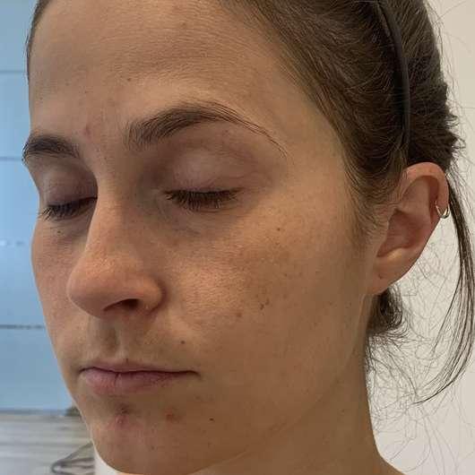 Gesicht mit IsaDora Bronzing Powder, Farbe: 49 Beach Tan (LE)