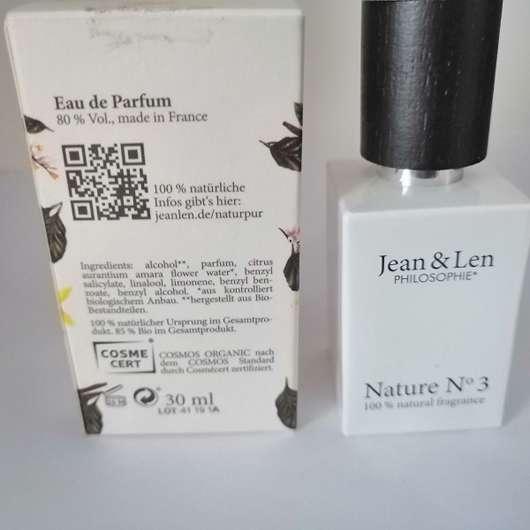 Jean & Len Philosophie Nature No 3