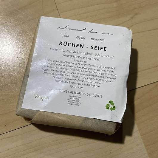 "PlantBase Küchenseife ""Kaffee"""