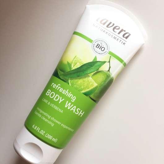lavera Refreshing Body Wash Lime & Verbena