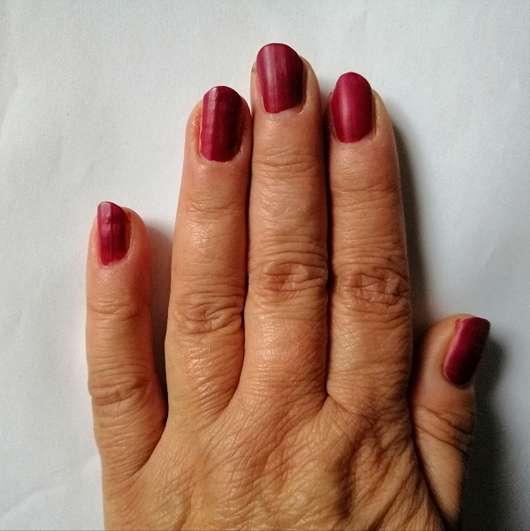 Fingernägel mit Rival de Loop matt nail colour, Farbe: 11