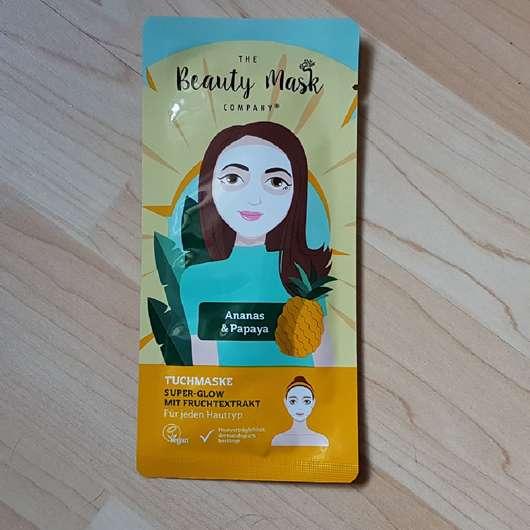 The Beauty Mask Company Tuchmaske Super-Glow mit Fruchtextrakt