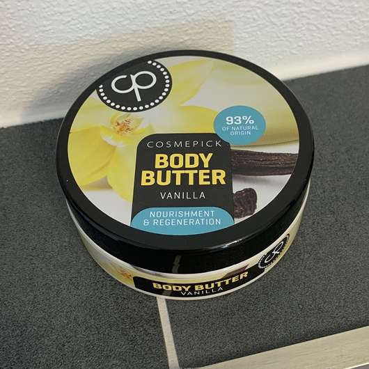 <strong>Cosmepick</strong> Body Butter Vanilla