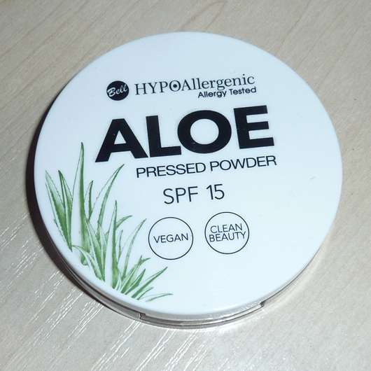 Bell HYPOAllergenic Aloe Pressed Powder SPF 15, Farbe: 02 Vanilla