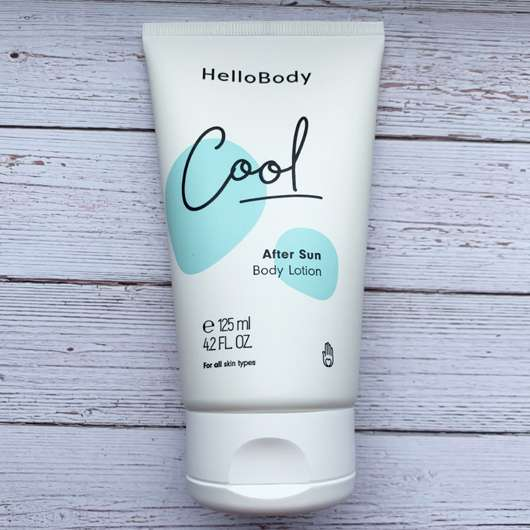 <strong>HelloBody</strong> Cool After Sun Body Lotion