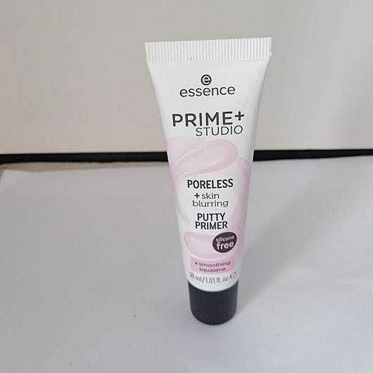 essence prime+ studio poreless + skin blurring putty primer