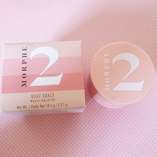 <strong>Morphe 2</strong> Quad Goals Muli-Palette - Farbe: Fresh Peach