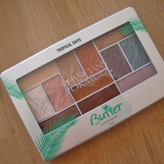 Physicians Formula Butter Eyeshadow Palette, Farbe: Tropical Days