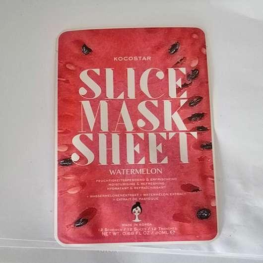 Kocostar Slice Mask Wassermelone