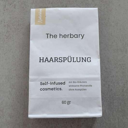 """<strong>The herbary cosmetics</strong> Naturblond """"aufhellende Spülung"""" Haartee-Spülung"""