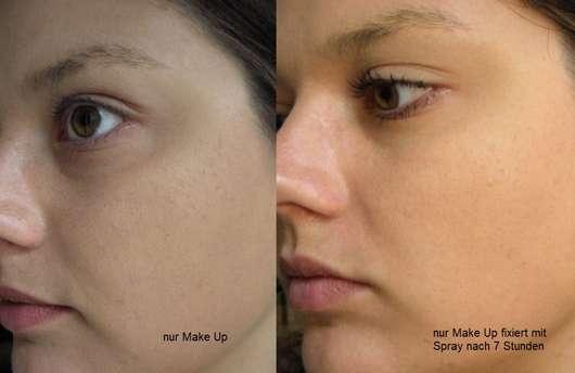 Gesicht mit Bell HYPOAllergenic Prime & Fix Longwear Spray