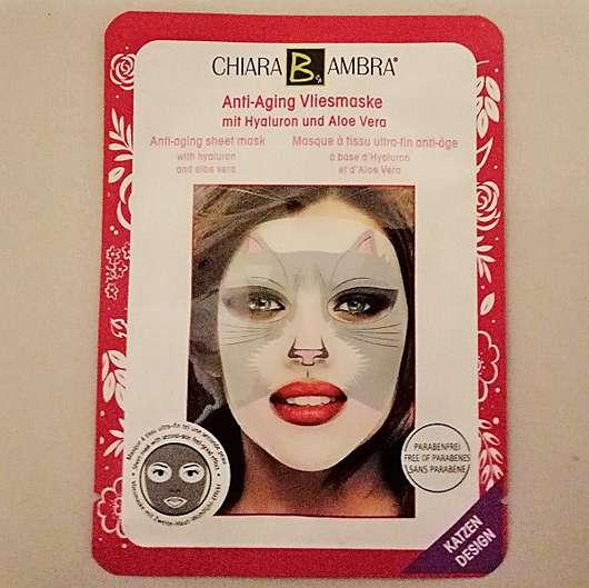 chiara b ambra Anti-Aging Vliesmaske