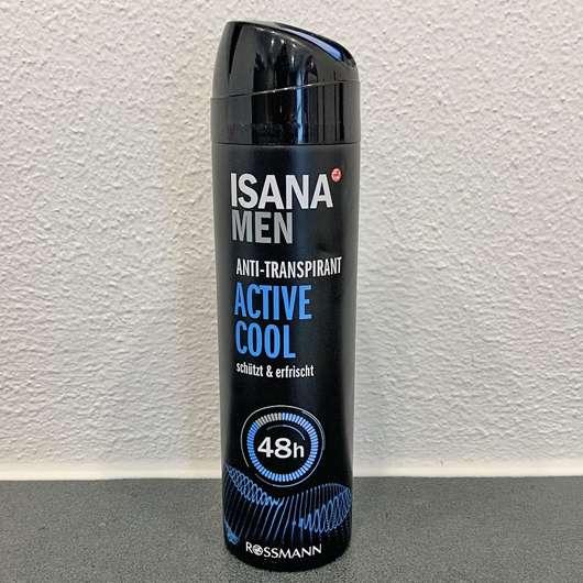 ISANA MEN Anti-Transpirant Active Cool Spray