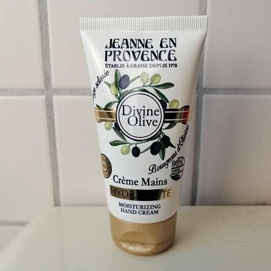 Jeanne en Provence Divine Olive feuchtigkeitsspendende Handcreme