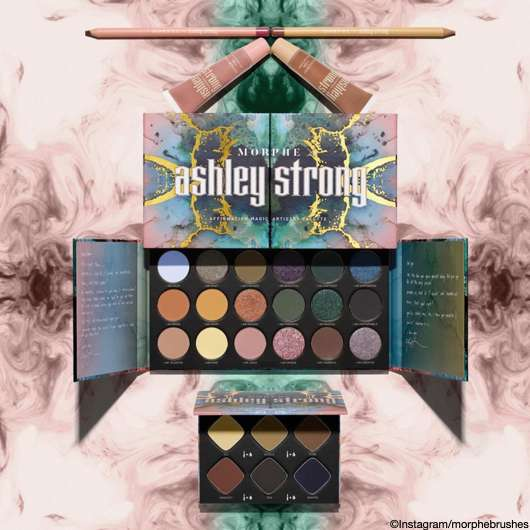 Morphe x Ashley Strong Collection
