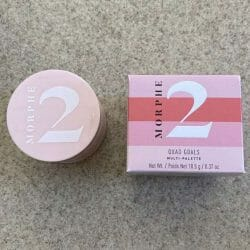 Produktbild zu Morphe 2 Quad Goals Muli-Palette – Farbe: Pink Please
