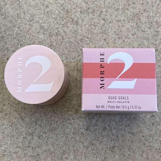 Morphe 2 Quad Goals Muli-Palette, Farbe: Pink Please