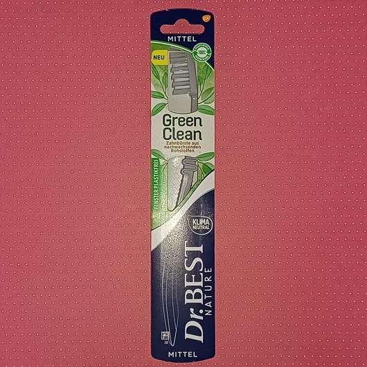 Dr.Best Nature Green Clean Zahnbürste (Mittel)
