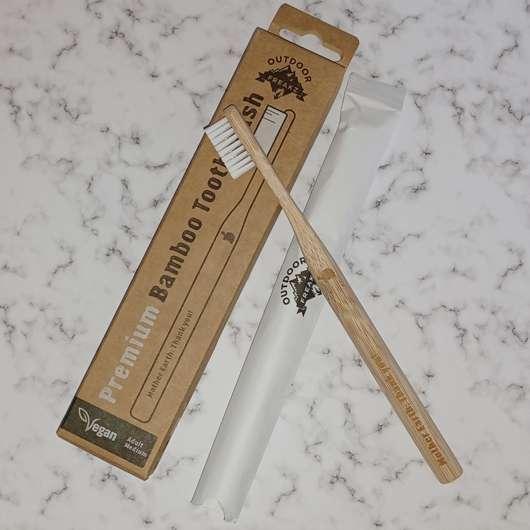 Outdoor Freakz Premium Bambus Zahnbürste