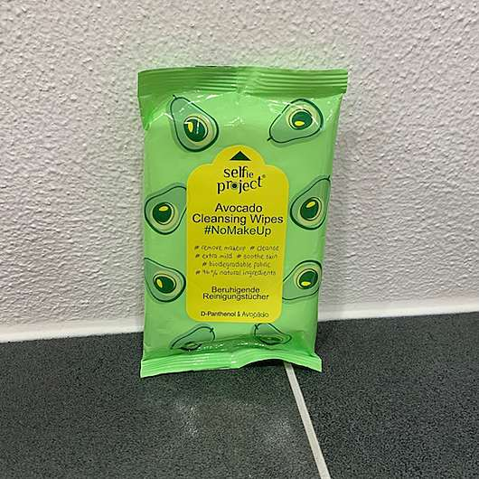 Selfie Project Avocado Cleansing Wipes