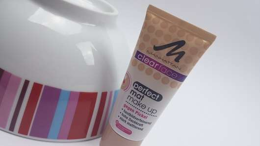 MANHATTAN Clearface Perfect Mat Make Up, Farbe: 75 beige