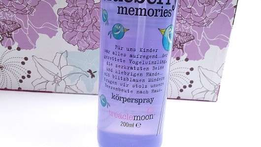 treaclemoon sweet blueberry memories körperspray (LE)