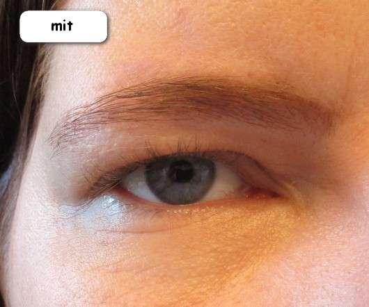 mit Terra Naturi Eyebrow Gel, Farbe: 02 Braun (LE)