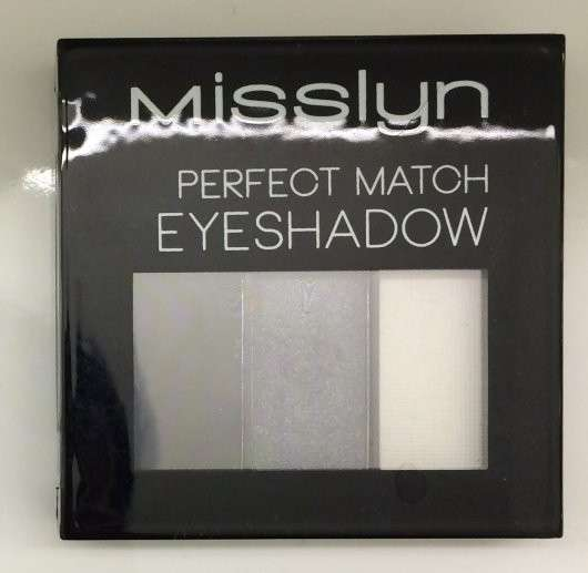 Misslyn Perfect Match Eyeshadow, Farbe: 01 girls night out