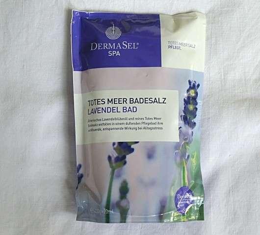 DermaSel Spa Totes Meer Badesalz Lavendel Bad