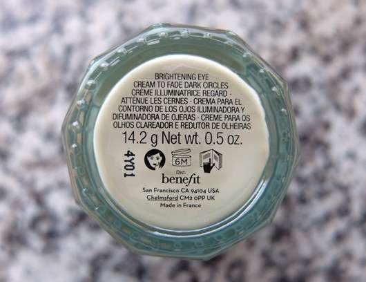 benefit It's Potent Eye Cream